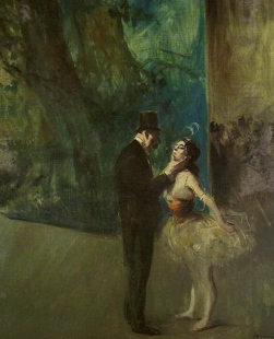 Toulouse-Lautrec (1864-1901), Dancer (1895-96).