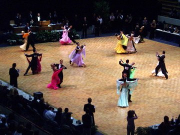 Ballroom Competition Floor