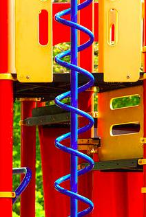 Spiral Stair at playground